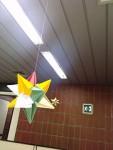 estrela no teto do escritório