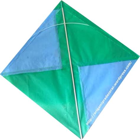 pipa verde e azul